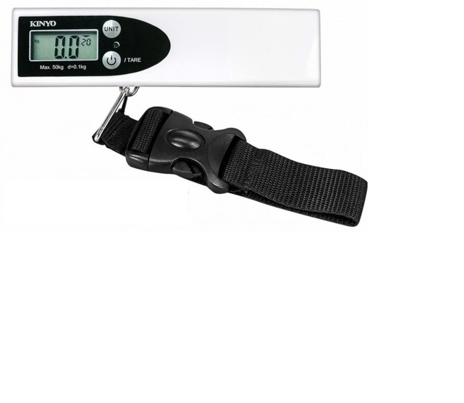 KINYO 50Kg Digital Portable Luggage Scale