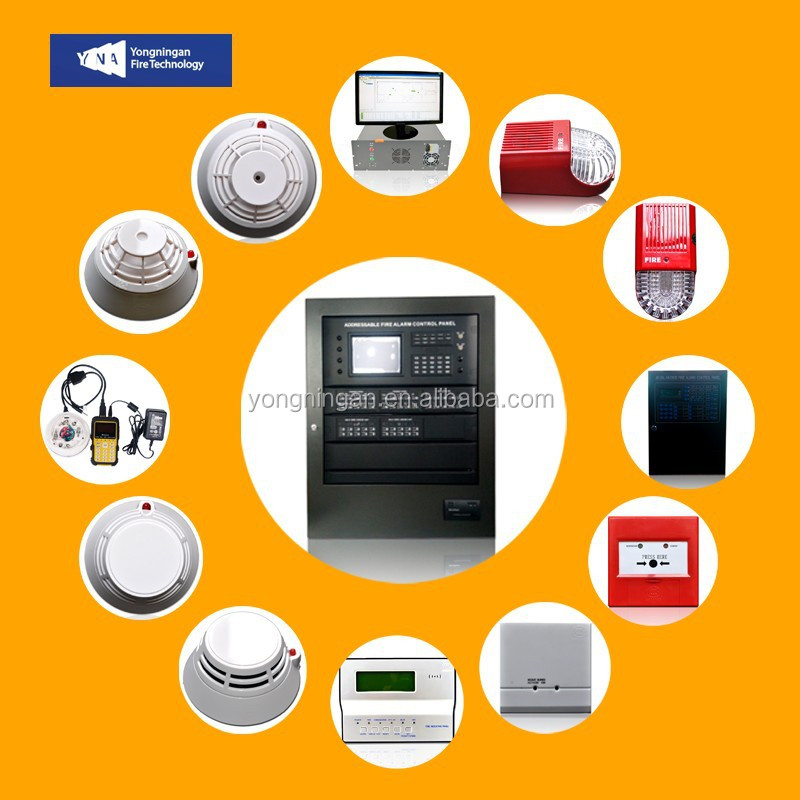 Wholesale Analog Intelligent Smoke Detection GSM Addressable Control Panel Fire Alarm System