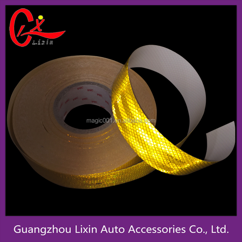 White color single packing diamond grade 3M reflective tape