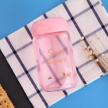 Eco-friendly easy carry glass infuser drinking bpa free water wholesale tea bottle with bamboo lid custom logo