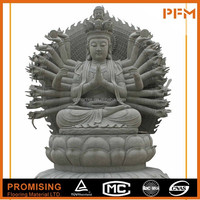 Best price marble made hand carved Chinese natural stone Buddhism godness GuanYin Buddha statues