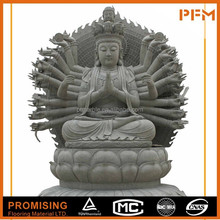 Best price marble made hand carved Chinese natural stone Buddhism goddess GuanYin Buddha statues
