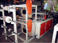 LDPE raw material computer control plastic bag roll printing flexo machine
