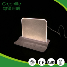 High quality long duration time battery led table lamp
