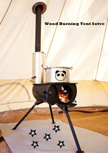 Factory Direct Multifuel Wood Burning Stove, Camping Tent Stove