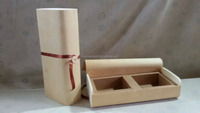 wooden veneer packaging boxes with compartments