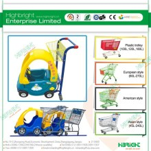 hot sale Child shopping cart supermarket kids trolley