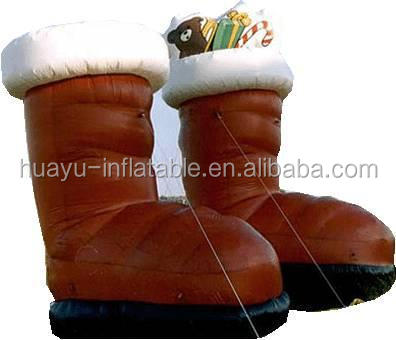 inflatable shoes for christmas decoration