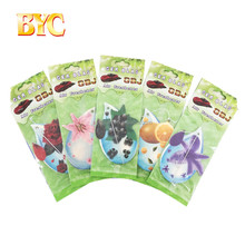 Factory Direct Sale Custom Cotton Paper Fruit Shape Car Air Freshener