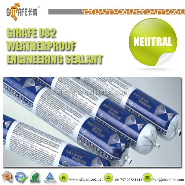 Girafe High Quality Mastic Gum For Metal/Glass Curtain Wall