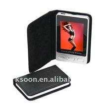 2.4 Inch Leather Digital photo frame