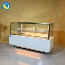 Trade Assurance right angle rectangular display cake showcase chiller sandwich chiller