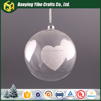 2016 Clear Hanging Glass Ball With