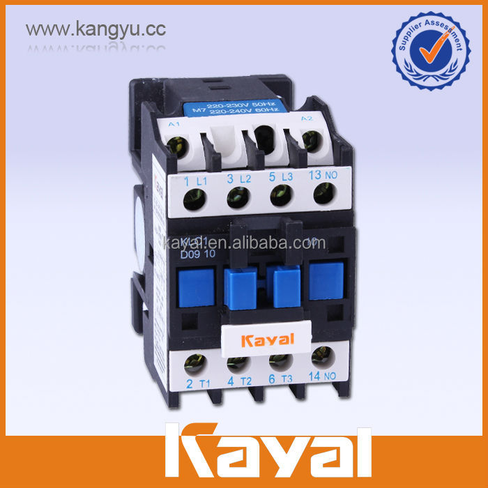 IEC report LC1-D0910Q7 50 or 60HZ high quality silver point electrical AC magnetic contactor