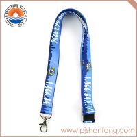 Factory main products dye sublimation printed lanyards for sale
