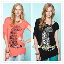 Long T shirt women clothes factory 2013