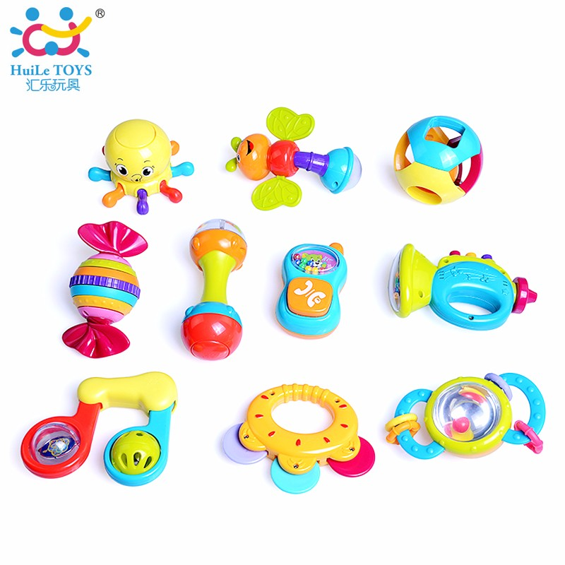 Huile Toys Wholesale Toy From China Baby Rattle Toys With En71