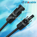 TUV approved high current carrying capacity mc4 power connector for solar energy system