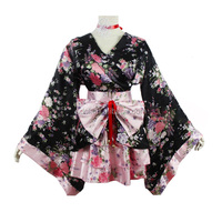 New arrival Japanese traditional women's kimono sexy and hot women cosplay costume