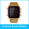MTK6572 Bluetooth unlocked android wifi smart watch cell phone