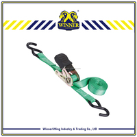 "1"" Ratchet lashing belt/ratchet tie down with easy operation"
