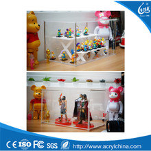 Classic Transparent Wall Hanging Acrylic Display Case for Action Figures