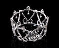 Pageant tiara Rhinestone Crown fashion hair ornament