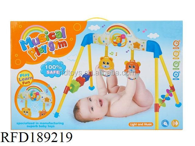 Baby Play Gym Of Rainbow Toy With Light And Music