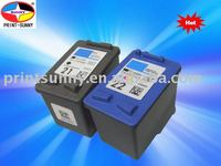 Compatible ink Cartridge for HP 21/HP C9351A/HP 22/HP C9352A,for HP Deskjet Series3900 Series - 3910 / 3918 / 3920 / 3930