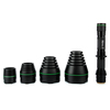 Muti heads 38mm 50mm 67mm and 75mm lens zoomable uniquefire uf 1508 ir flashlight