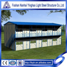 Prefabricatedeasy install economic temporary house office for sale