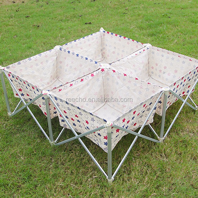 Foldable Metal Frame Fabric Laundry Hamper