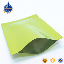 China factory heat seal custom laminated foil 3 side seal vacuum storage bag food package