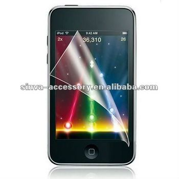High clear PET screen protector foriphone 5 ipad IP4G