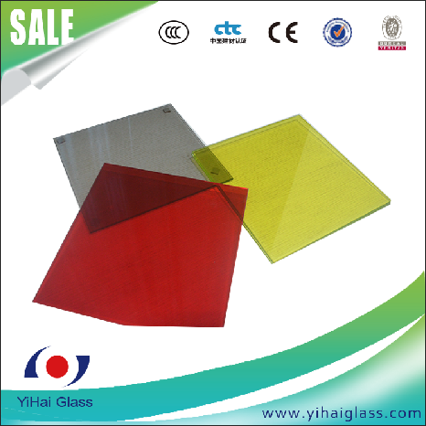 high grade colored glass sheets tempered glass for decoration