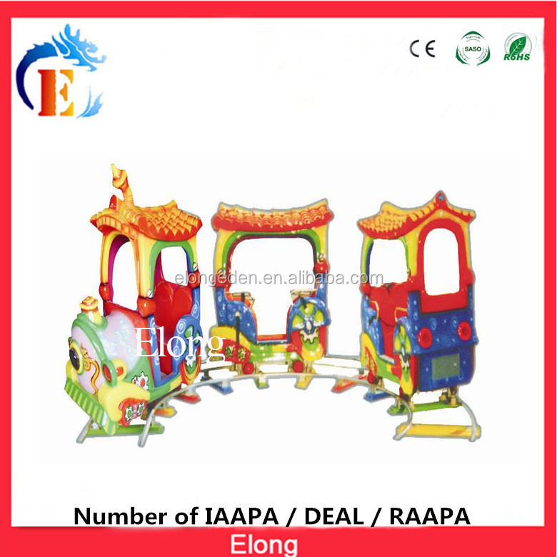 The sea battle funny kids electric train,park rides railway train