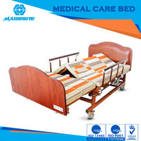 cheap price remote control hospital bed and medical bed for sale for complete care of bedridden patients