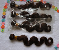 Hot selling high quality brown color number 4 body wave virgin brazilian hair cheap brazilian virgin body wave hair