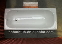 cheap cast iron bathtub / simple drop in bath tub / porcelain enamel bath