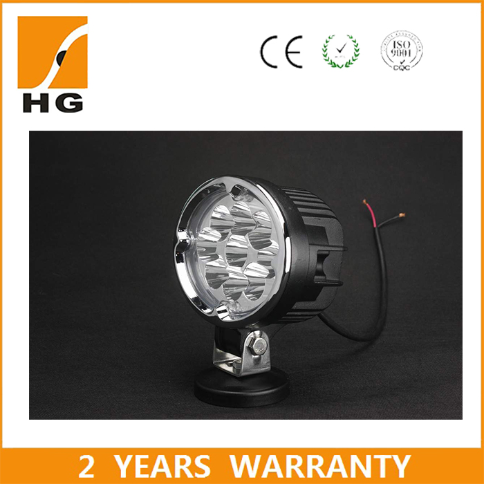 5.8'' 27W Oval LED Work Light for Car machinery Car