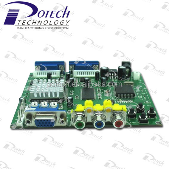 CGA to VGA converter board for arcade games machines