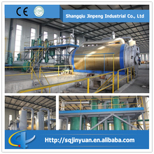 Full Open Door Batch Type 10 Tons Waste Tire Pyrolysis Plant