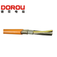 Oil resistant servo motor electrical and control cable
