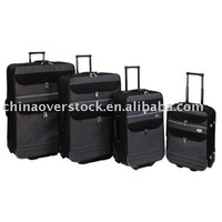 Overstock/Stocklot/Stock/Cancelled order 4pcs trolley luggage+Silk/600D/1200D/1860D+Best price/High quality