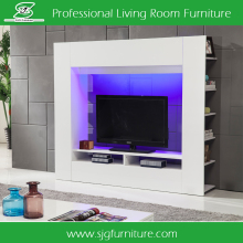 Living Room Furniture Cheap Wood Led tTV Wall Unit Design