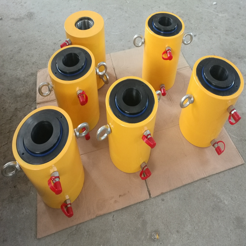 150 MT Double Acting Hollow Electric Hydraulic Cylinders Factory Price