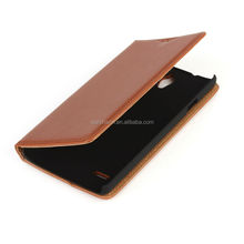 Cell Phone Protector Wallet Leather Phone Case for Huawei Ascend G700