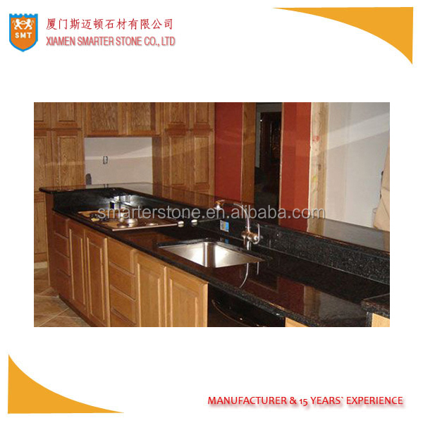 Granite Impala Black Kitchen Counter tops