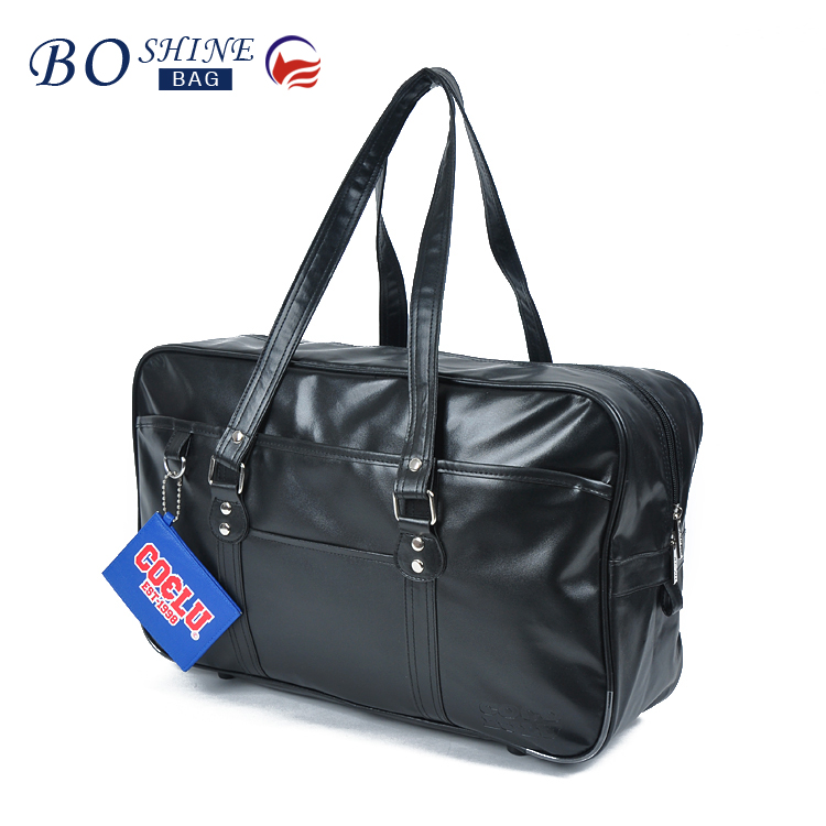 BOSHINE new design wholesale high quality waterproof latest model leather travel bag luggage bags