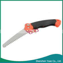 Plastic and Alloy Folding Saw , 120mm Garden Pruning Saw